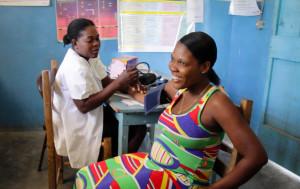 prenatal care dispensary blood pressure