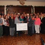 The Rotarians of Chardon, Ohio raised $31,200 for two incubators