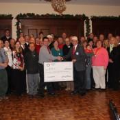 The Rotarians of Chardon, Ohio raised $31,200 for two incubators