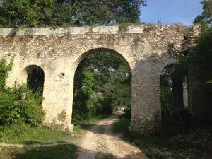 Aqueduct ruins